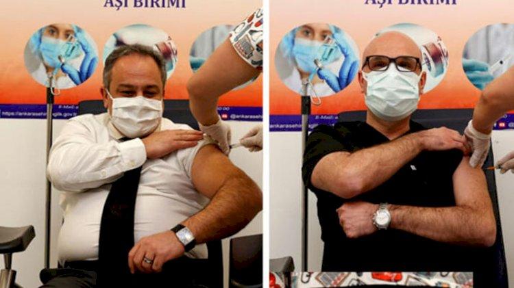 Çin aşısı uygulanan Bilim Kurulu Üyeleri sosyal medyadaki 'enjektör' tartışmalarına yanıt verdi