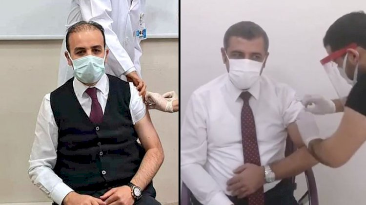 'Sağlıkçı' vekiller de aşı yaptırıyor