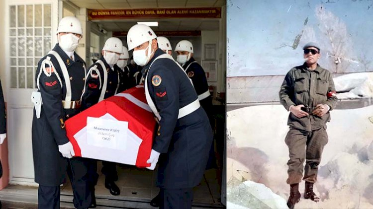 Terör gazisi doğum gününde yaşamını yitirdi
