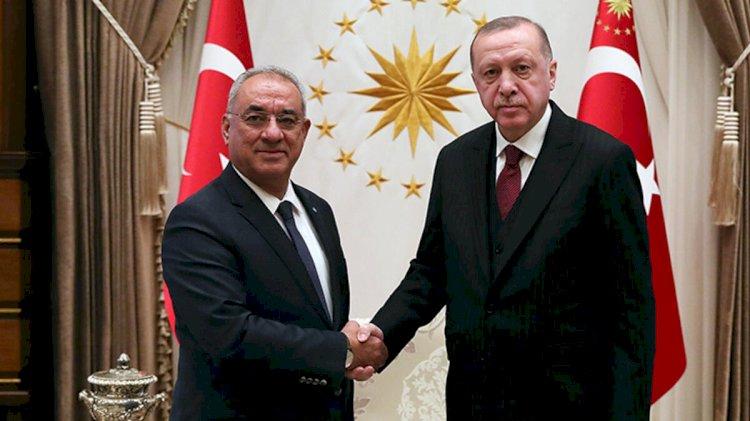Erdoğan'la görüşen DSP liderinden 'ittifak' açıklaması