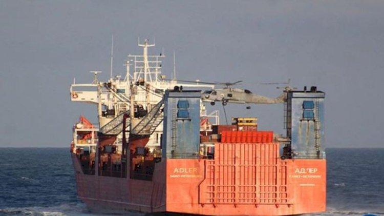Yunan donanması Rus gemisini aradı... Rusya'dan AB'ye tepki