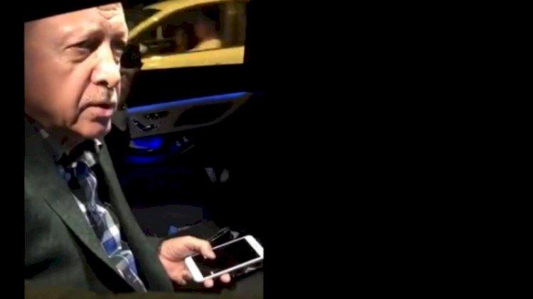 Holding patronunun ablası kendini Erdoğan'ın arabasının önüne atmış