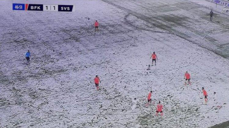 Başakşehir- Sivasspor maçı dünyanın diline düştü