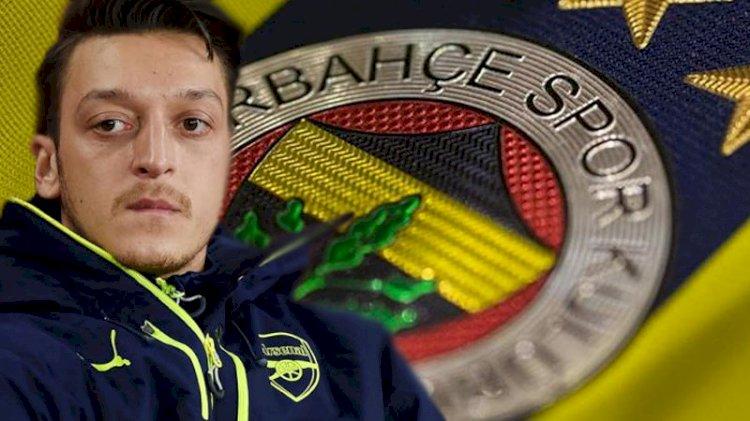 Mesut Özil resmen Fenerbahçe'de
