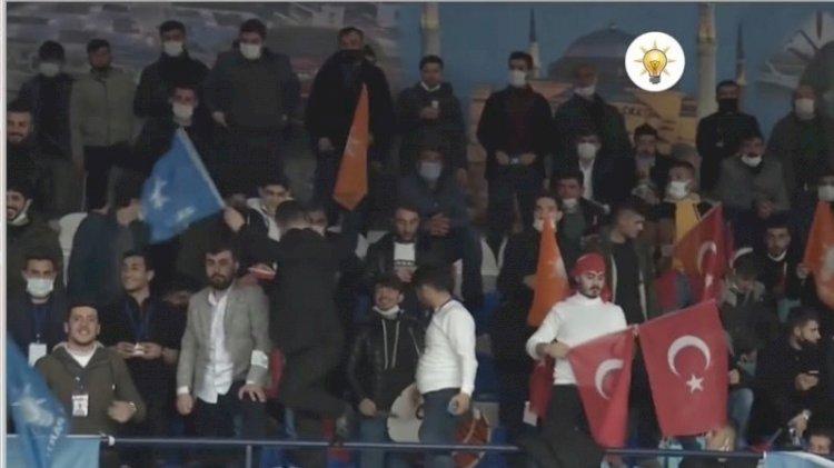 AKP kongrelerinde maske ve mesafe kuralı çiğnendi