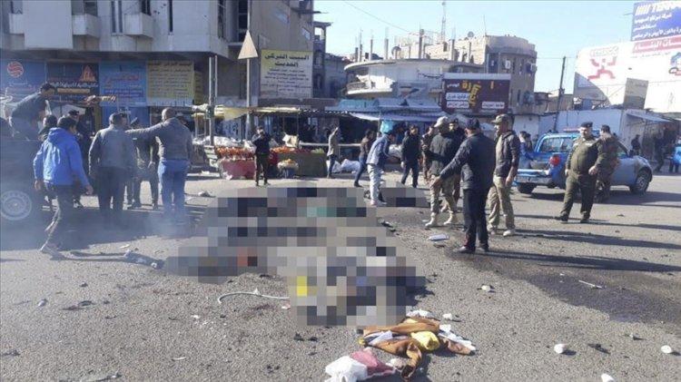 Bağdat kent merkezinde intihar saldırısı
