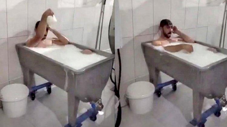 Süt banyosuna istenen ceza belli oldu