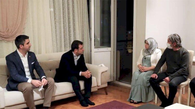 Ekrem İmamoğlu, hangi HDP'liyi ziyaret etti
