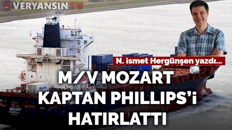 M/V Mozart, Kaptan Phıllıps 'i hatırlattı