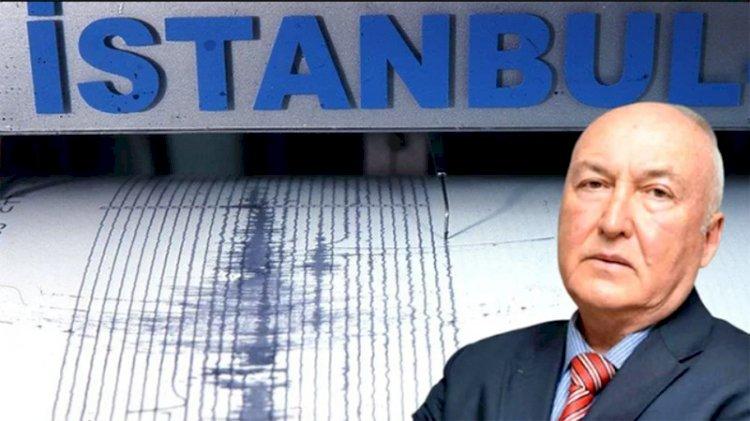 Prof. Dr.  Ahmet Ercan büyük deprem beklediği bölgeyi açıkladı