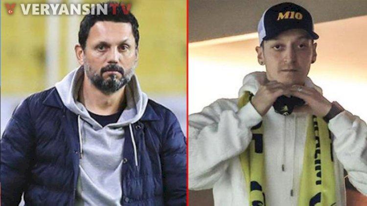 Mesut Özil, Galatasaray derbisine yetişecek mi? Erol Bulut yanıtladı