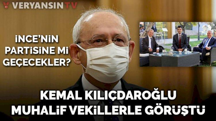 Kılıçdaroğlu, muhalif vekillerle görüştü