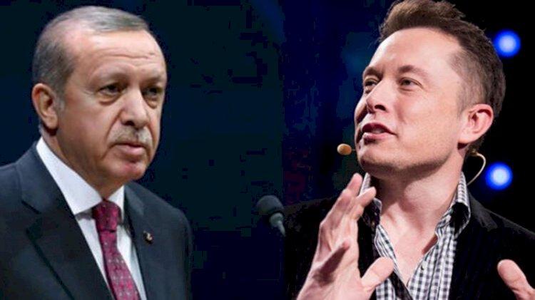 Erdoğan, Elon Musk ile telefonda görüştü