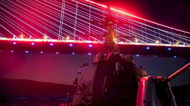 ABD donanmasından İstanbul Boğazı'nda küstahlık