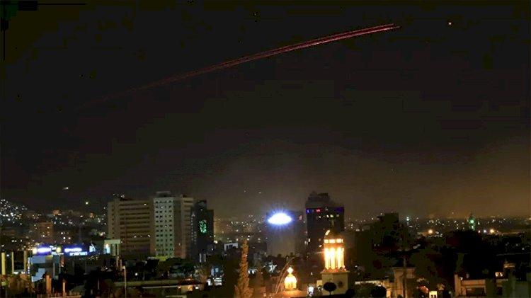 İsrail yine saldırdı... Şam'da patlama sesleri