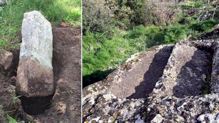 4 bin yıllık mezarlar hilti ve matkapla talan edildi!