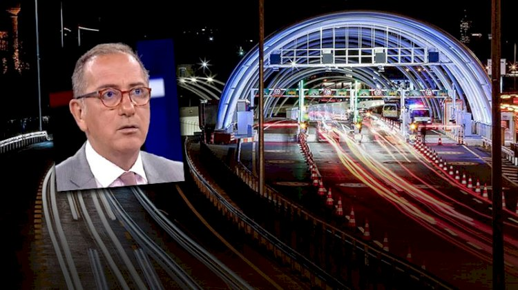 Fatih Altaylı'dan 'Avrasya Tüneli' tepkisi: Yahu kimsede izan yok mu?