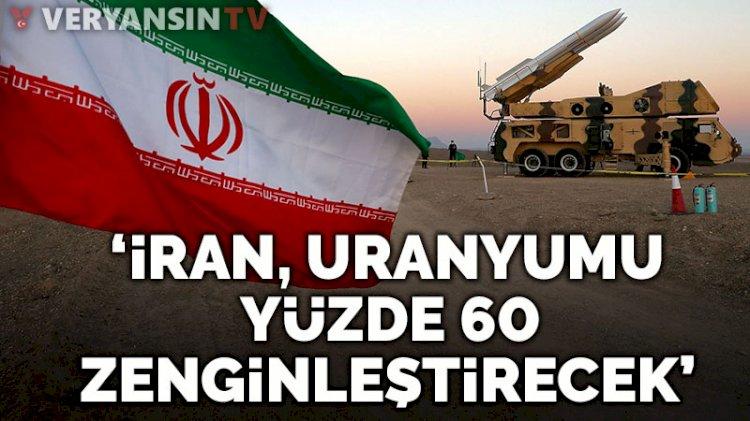 İran lideri Hamaney, uranyumu yüzde 60 zenginleştirecek kadar ileri gideceklerini kaydetti