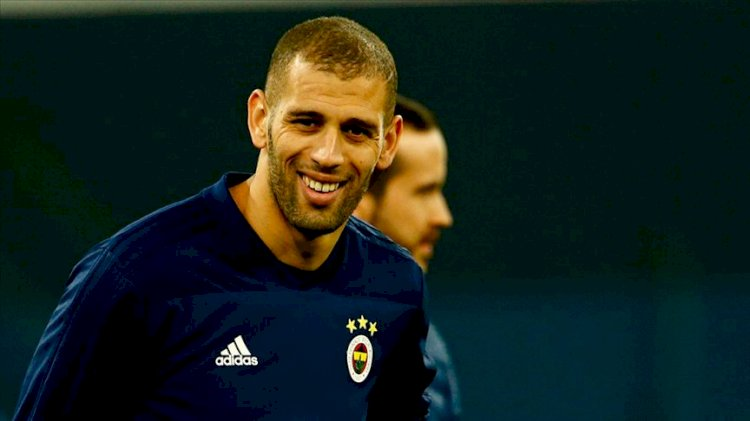 Islam Slimani'den Fenerbahçe açıklaması