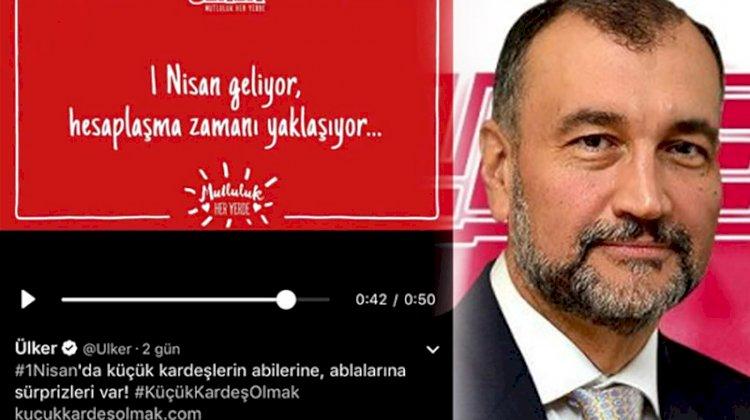 Murat Ülker: 1 Nisan reklamı bize yönelik bir komploydu
