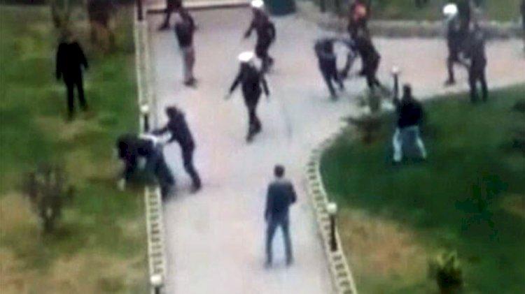İstanbul'da site sakinlerine mafya dayağı
