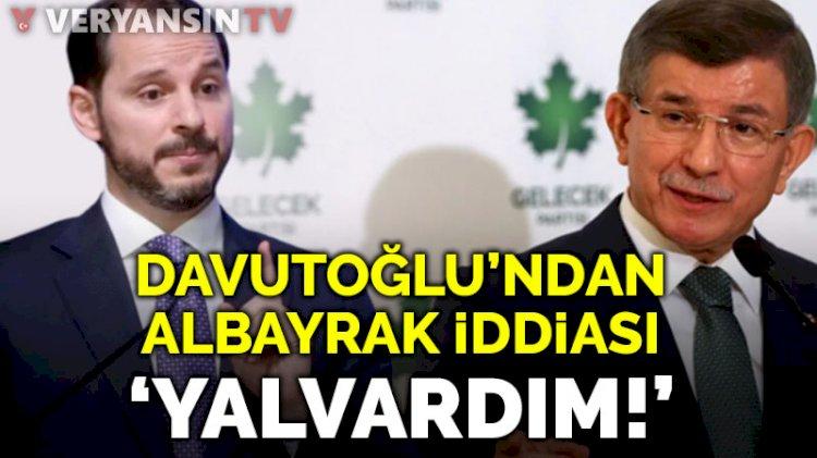 Davutoğlu'ndan Berat Albayrak açıklaması