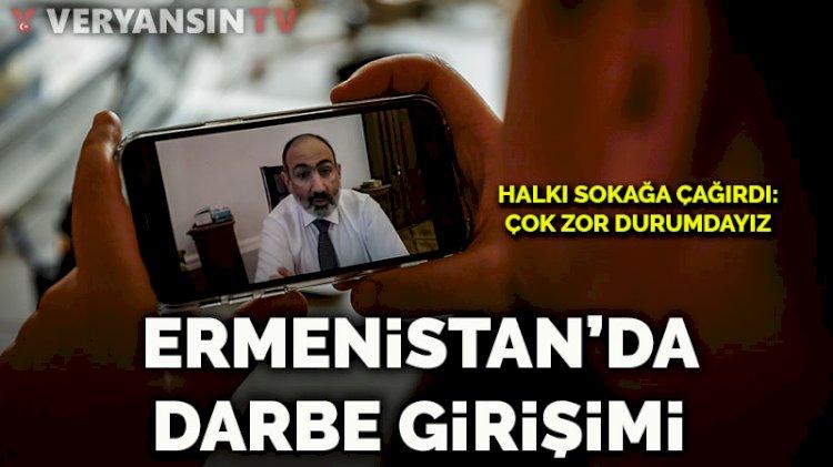Ermenistan ordusu istifasını istedi... Paşinyan 'darbe girişimi' dedi