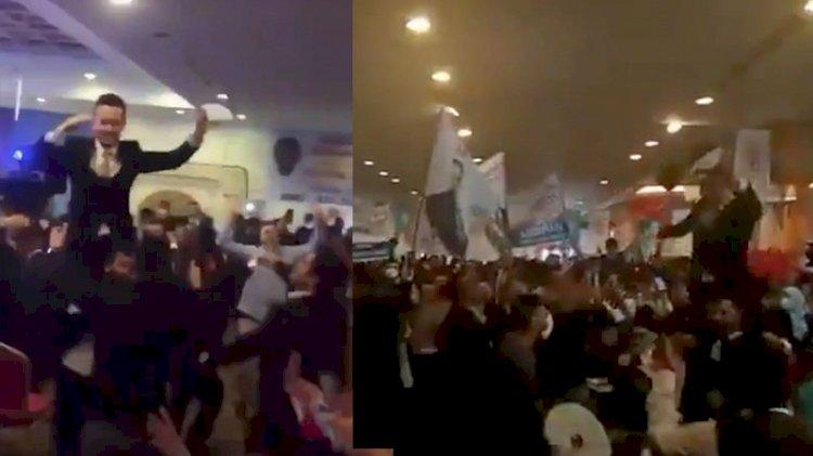 AKP Gençlik Kolları'ndan davullu zurnalı sazlı sözlü kongre!