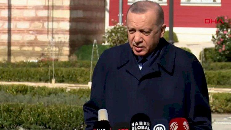 Erdoğan: Dünya Kanal İstanbul'u hayran hayran izleyecek