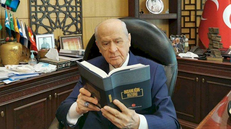 Devlet Bahçeli, MHP'nin kitabını duyurdu
