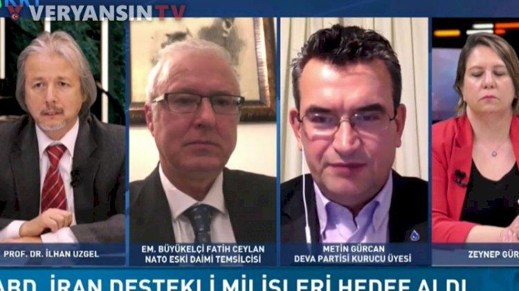 Deva Partisi kurucusundan NATO'ya karşı olan generallere çirkin benzetme