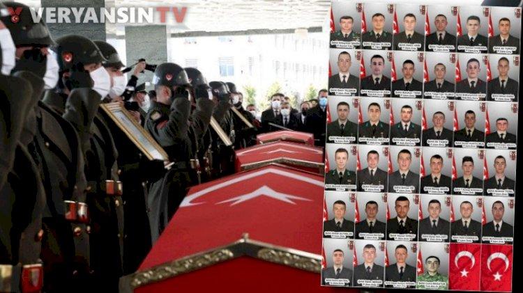 34 Türk askerinin şehit düştüğü kanlı gün