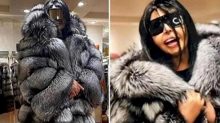 Bülent Ersoy 55 tilkinin kürkünden palto yaptırdı