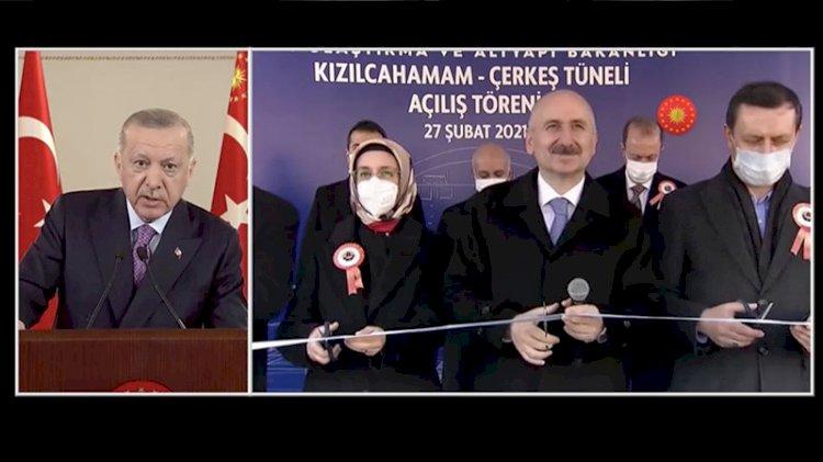 Bakan kurdeleyi keserken Erdoğan araya girdi: Asfalt iyi gözükmüyor