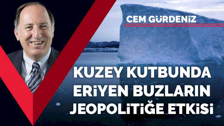 Kuzey kutbunda eriyen buzların jeopolitiğe etkisi