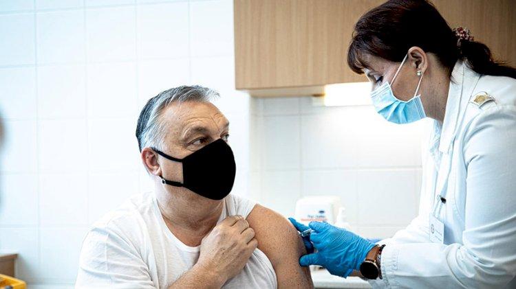 Macaristan Başbakanı Viktor Orban'a Çin'de geliştirilen aşıdan yapıldı