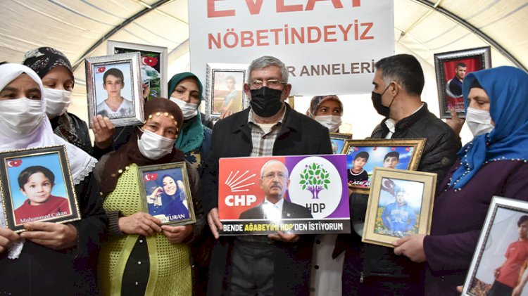 Kılıçdaroğlu'nun kardeşi, Diyarbakır'daki anneleri ziyaret etti: Ben de ağabeyimi HDP'den istiyorum