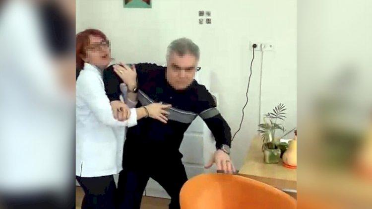Çocuğunu götürdüğü doktordan şikayetçi oldu: Yumruk attı, boğazımı sıktı