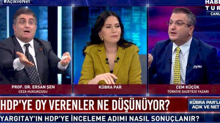 PKK açılımını savunan Cem Küçük'e Ersan Şen'den tepki
