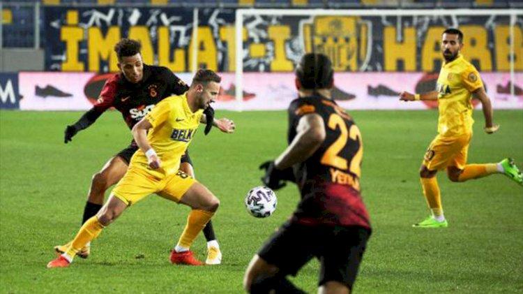Galatasaray'da galibiyet serisi son buldu