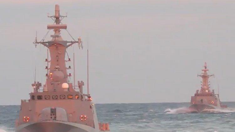 MSB'den 'Mavi Vatan' videosu: Çelikten kaledir donanmamız