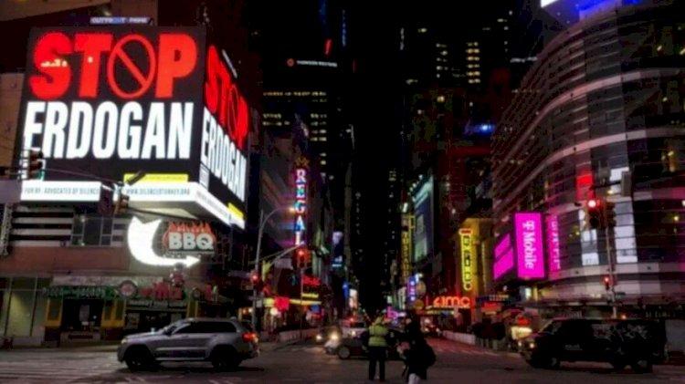 FETÖ'nün New York'taki Erdoğan reklamlarına soruşturma