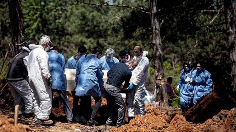 Cenazeye katılan 100 kişiden 40'ı Kovid-19 oldu