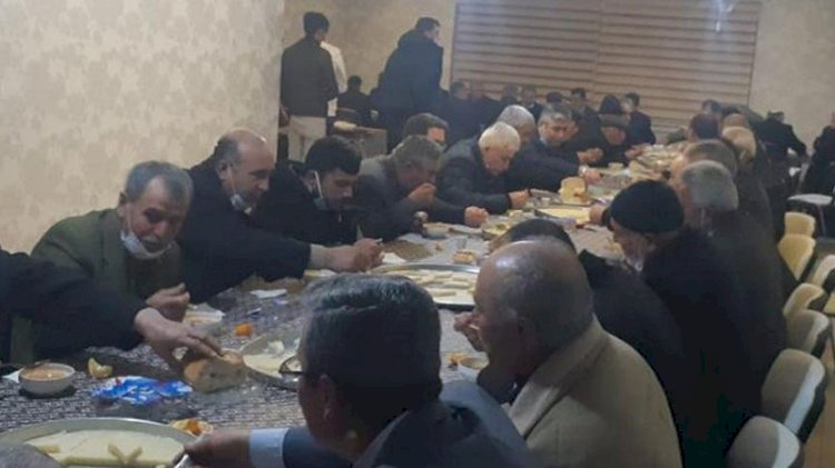 AKP'de 'Lebaleb' ziyafet