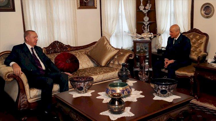 Sürpriz Erdoğan-Bahçeli zirvesi... HDP'yi mi konuştular?
