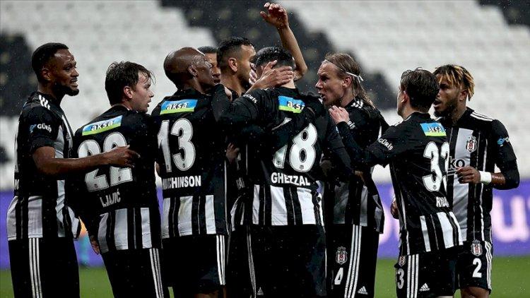 Beşiktaş, zirve yarışını bırakmıyor