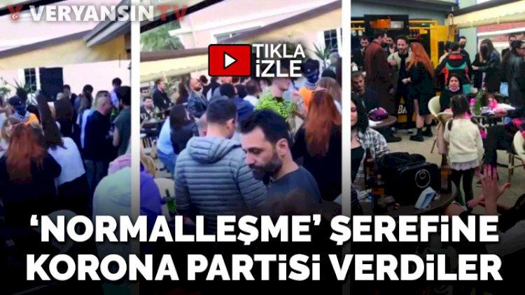 Antalya'dan endişelendiren görüntü... Gençler 'kontrollü normalleşmeyi' hiç anlamamış