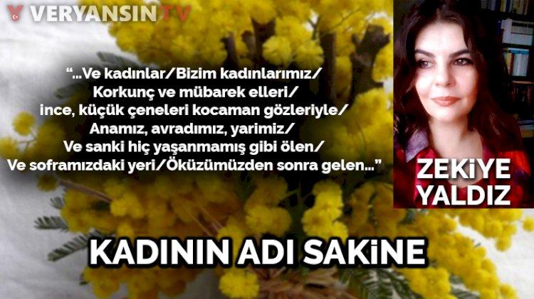 Kadının adı Sakine