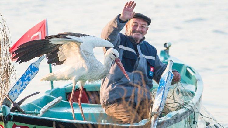 'Yaren Leylek' 10'uncu yılda da Adem amcayı unutmadı