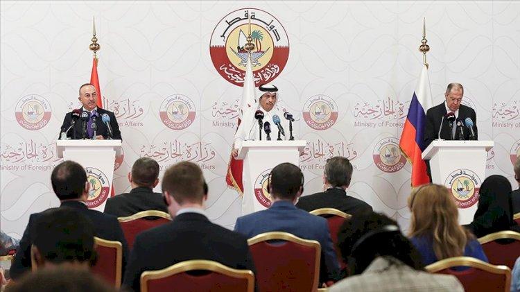 Kritik Suriye açıklaması: Türkiye, Rusya ve Katar anlaştı